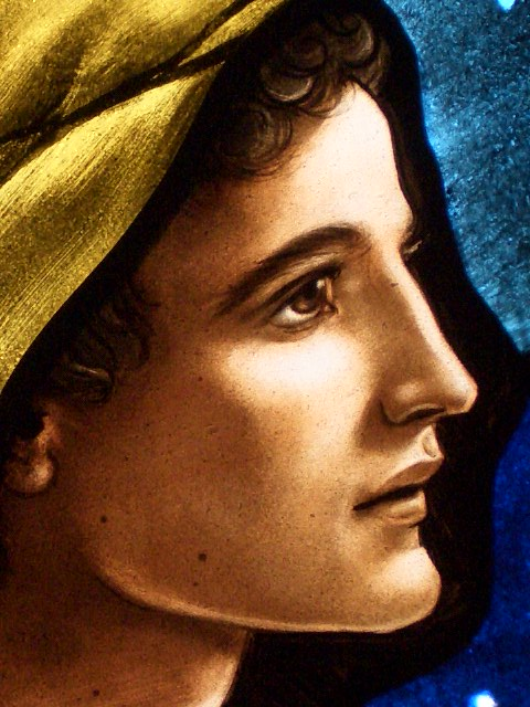 Stained Glass Painting Faces The Art Of Lyn Durham